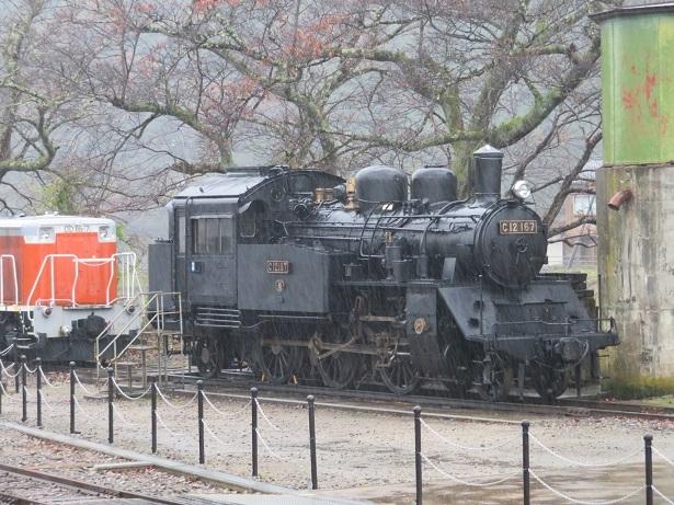若桜駅 SL