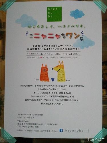 こニャニャちワン展ポスター1