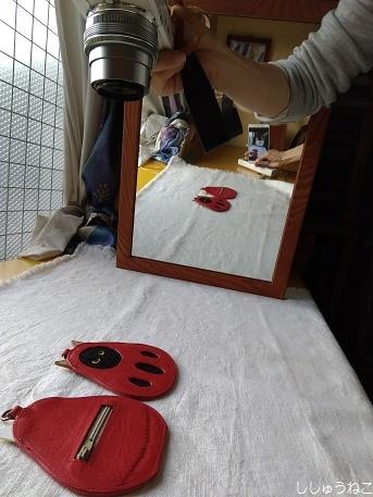 レフ板鏡代用