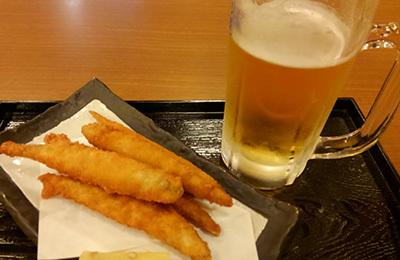 ビールとシシャモKIMG5788