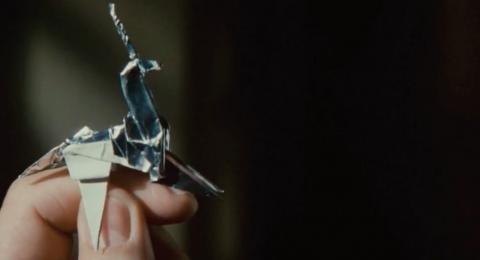 あ、羊の折り紙...映画「ブレードランナー2049」