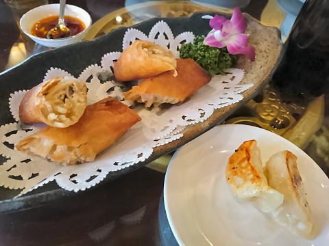 春巻き+焼餃子@香港海鮮飲茶樓
