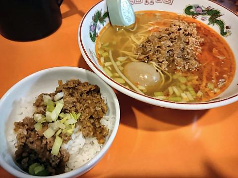 担仔麺+魯肉飯@味仙なんこめ