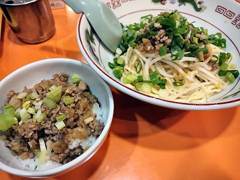 葱油拌麺+魯肉飯@味仙なんこめ