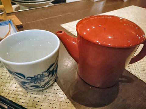 蕎麦湯@そば居酒屋るちん