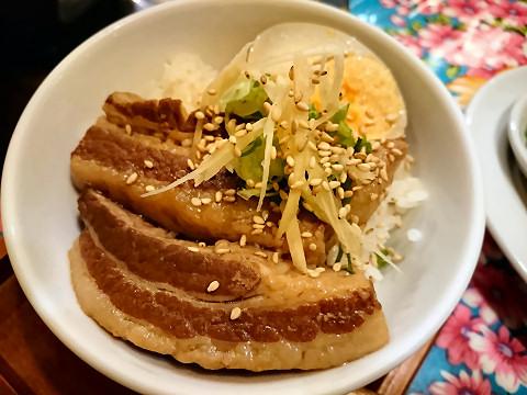 魯肉丼ミニサイズ@味庵茶房