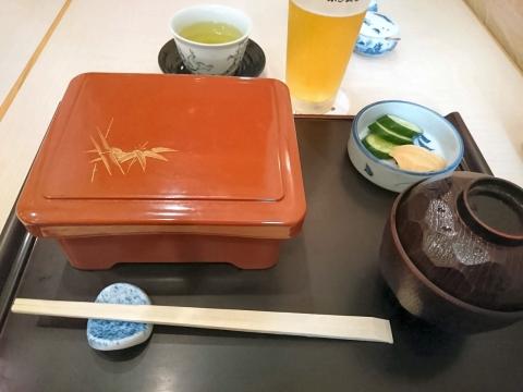 配膳されました@赤坂ふきぬき