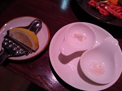 塩2種・レモン@焼肉ハヌル