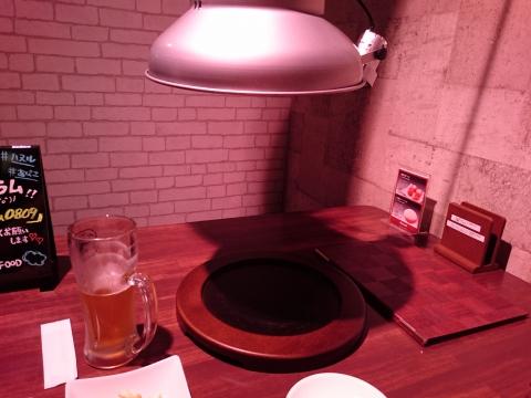 テーブル席@焼肉ハヌル