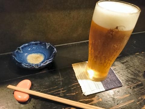 生ビール@酒宴縁