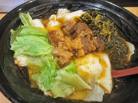 四川麻辣牛肉麺@四川麻辣牛肉麺