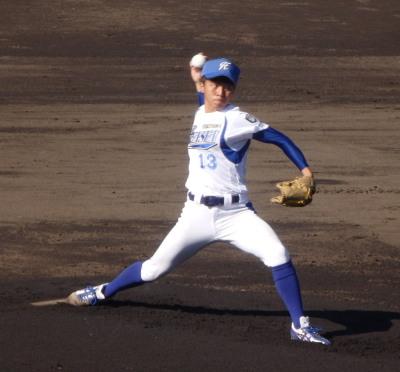 PB074782福山平成先発近藤投手