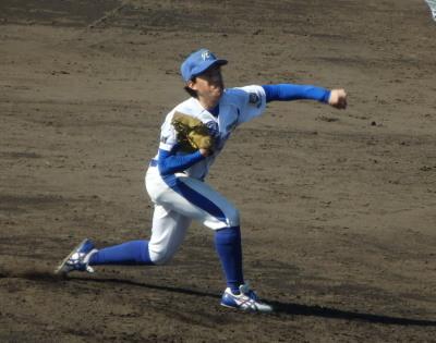 PB074874福山平成8回途中からリリーフ吉田拓投手