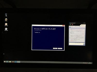BootcampでWindows10にアップデート11