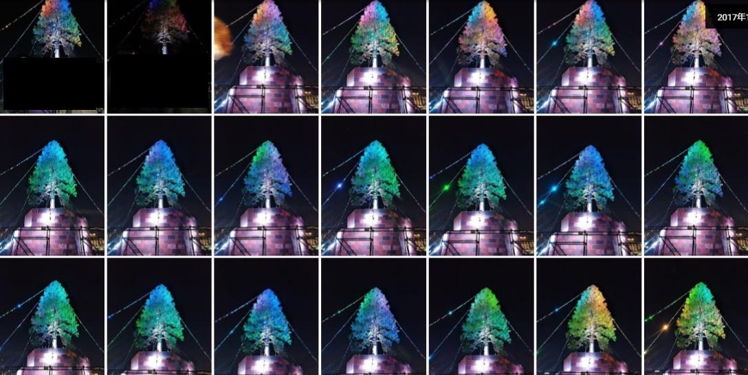 クリスマスツリー2017in KOBE2