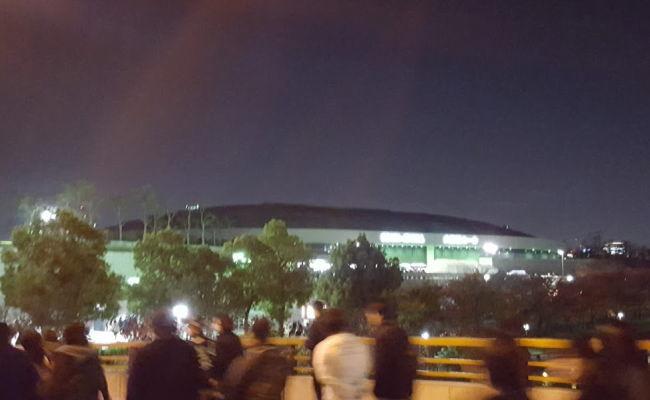 大阪城ホール。7