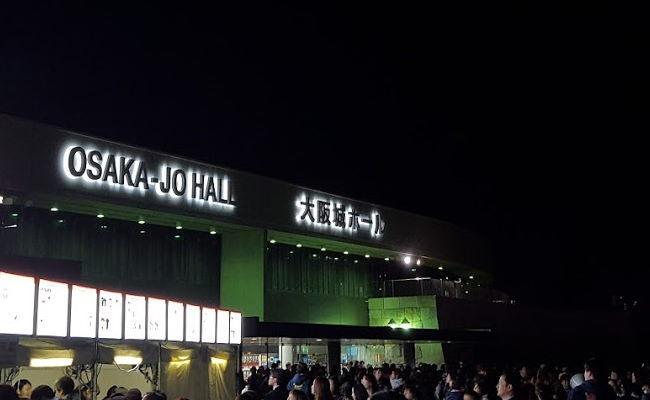大阪城ホール。8