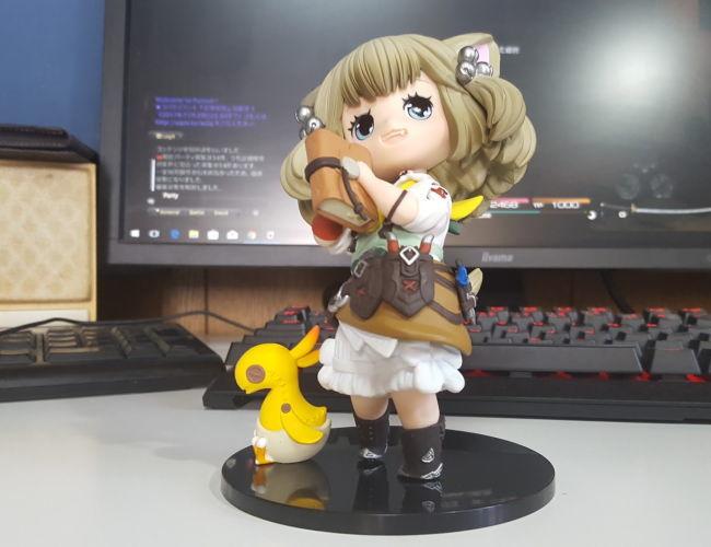クロちゃんフィギュア2