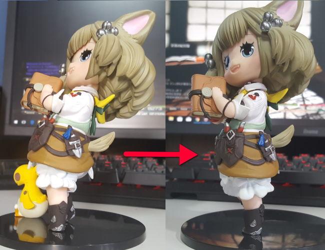クロちゃんフィギュア6