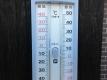 今朝の温度計