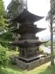画題の国宝三重塔