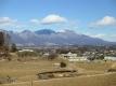 芦田宿から見える浅間山