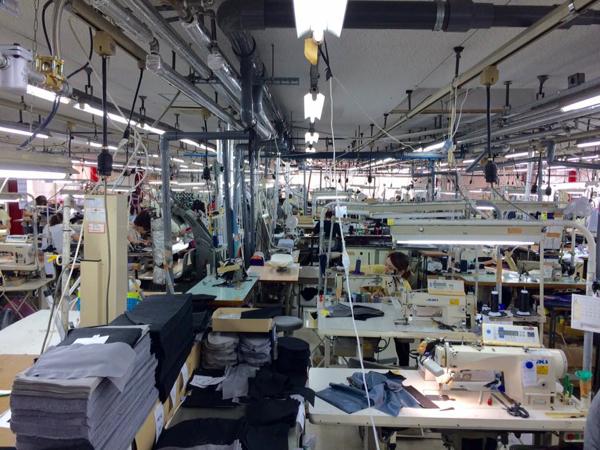 縫製工場見学2017
