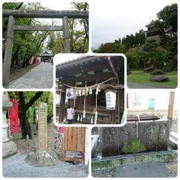 真田神社にて