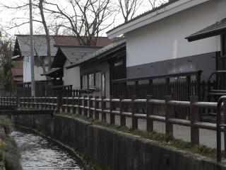 最上川上流域における長井の町場景観s