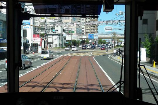 京都方面行きの車窓