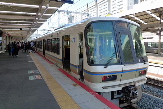 みやこ路快速@京都駅