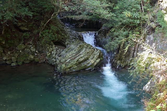 出合滝(河津七滝)