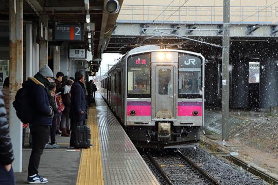 701系@新青森駅