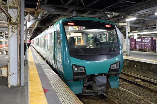 リゾートしらかみ@秋田駅