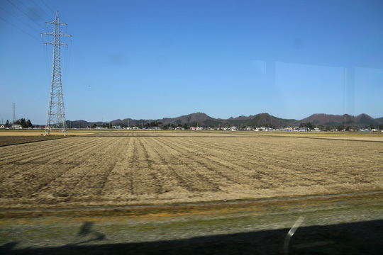 田沢湖線の車窓