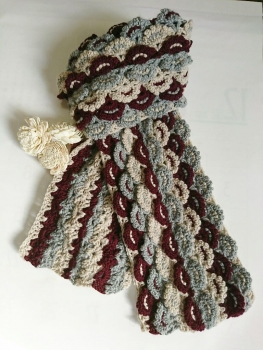 かぎ針編みのマフラーⅡ