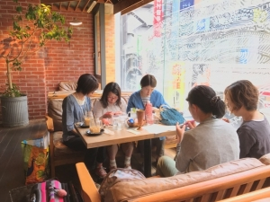 201705 Thecafe ニットカフェ4