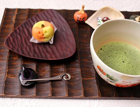 1020お抹茶・ハロウィン生菓子