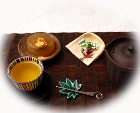 1024かぶせ茶・本わらび餅