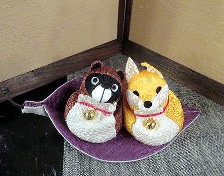 1106狸&キツネ