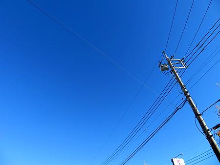 1116雲もない青空