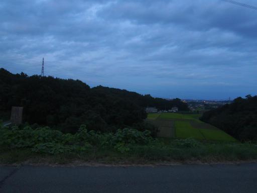 20170923・藤岡空16・竹沼から藤岡の夜景と鉄塔と空
