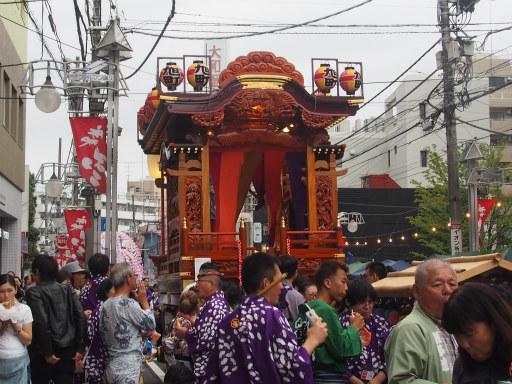 20171008・所沢まつり2-24・旭町山車