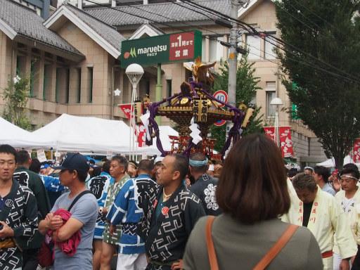 20171008・所沢まつり3-01・七祭会神輿