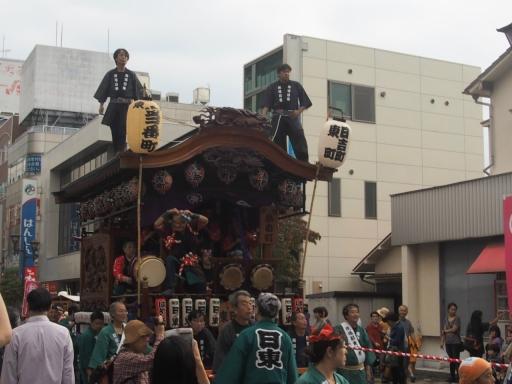 20171008・所沢まつり山車09・日吉町東町山車・大