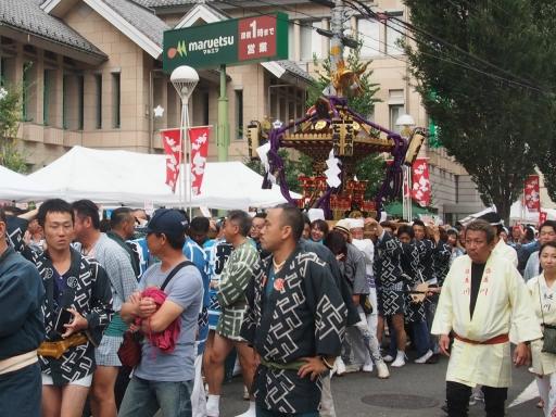 20171008・所沢まつり山車18・七祭会神輿・大