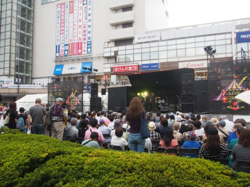 20171008・所沢まつり山車16・駅前コンサート・大