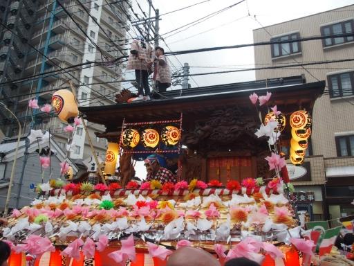 20171008・所沢まつり山車24・金山町山車・大