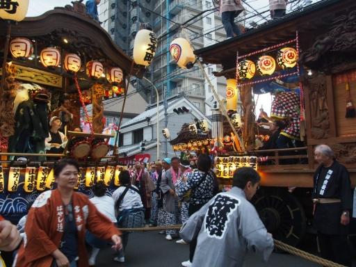 20171008・所沢まつり山車23・宮本町と金山町・大