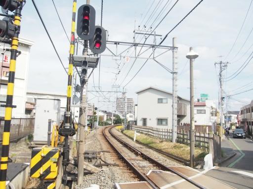 20171008・まず西所沢まで鉄2・踏切